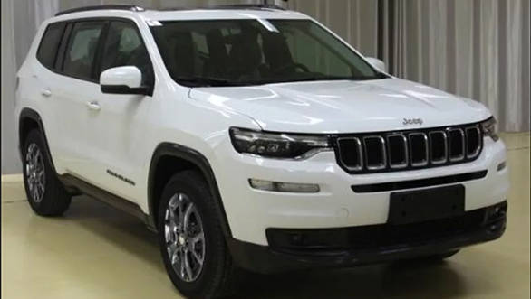 Jeep Grand Commander 7-seater SUV revealed in spy shots ...