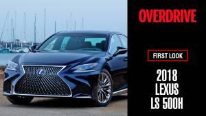 Lexus LS 500h - First Look