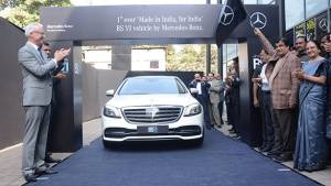 2018 Mercedes-Benz S 350d, first BS VI compliant vehicle, revealed in India