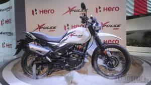 Auto Expo 2018: Hero XPulse 200 showcased, image gallery