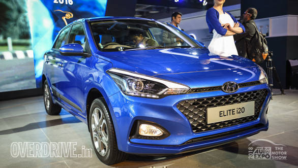 Auto Expo 2018: Hyundai Elite i20 facelift image gallery