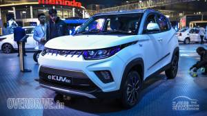 Mahindra eKUV100 electric SUV could be launched closer to the festive season in India