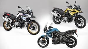 Spec comparo: 2018 Triumph Tiger 800 vs 2018 BMW F850 GS vs 2018 BMW F750 GS