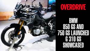 BMW 850 GS and 750 GS launched in India, G 310 GS showcased