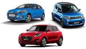 Spec comparison: 2018 Maruti Suzuki Swift vs 2018 Hyundai Elite i20 vs Maruti Suzuki Ignis
