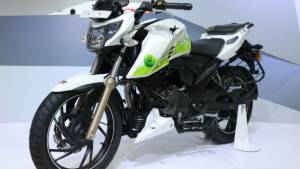 Image gallery: TVS Apache RTR 200 Fi Ethanol