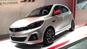 Auto Expo 2018: 110PS/150Nm Tata Tiago Sport showcased, rivals Baleno RS and Polo GT TSI?