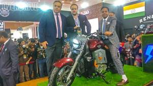 Auto Expo 2018: UM Renegade Thor electric cruiser launched at Rs 9.9 lakh