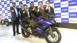 Auto Expo 2018: Yamaha YZF-R15 v3 launched in India at Rs 1.25 lakh