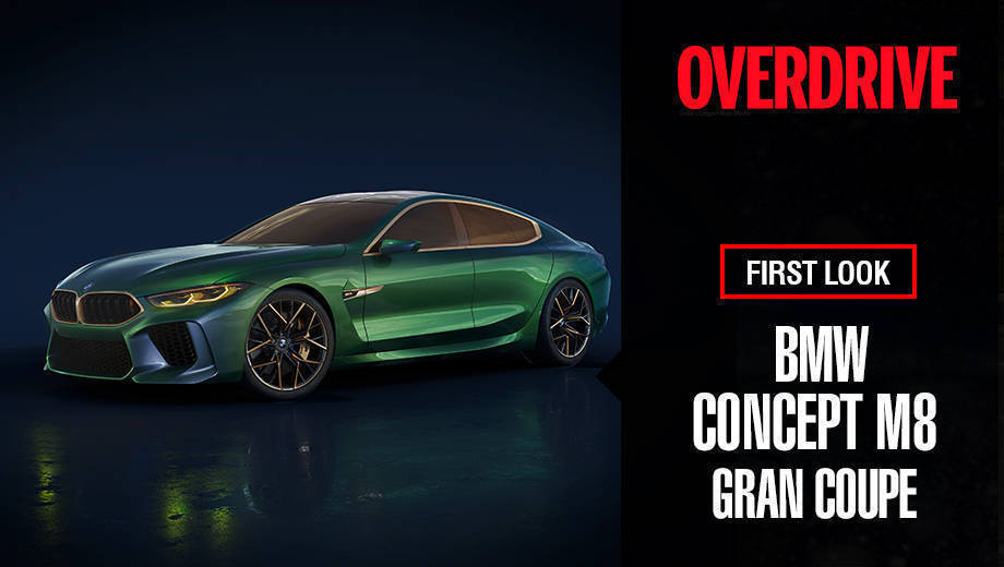Bmw Concept M8 Gran Coupe At Geneva Motor Show 2018 Overdrive