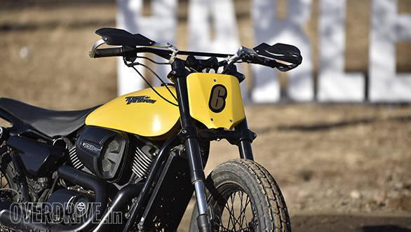 Harley-Davidson Flat Track Experience Street Rod Detail