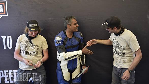 Harley-Davidson Flat Track Experience Marco Belli Shumi Alessandro Pagani Static