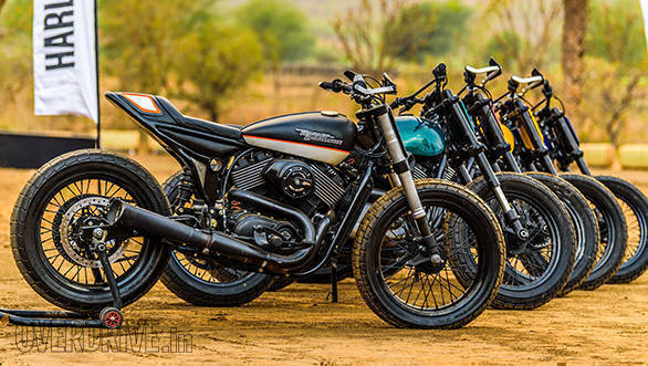 Harley-Davidson Flat Track Experience Street Road Static