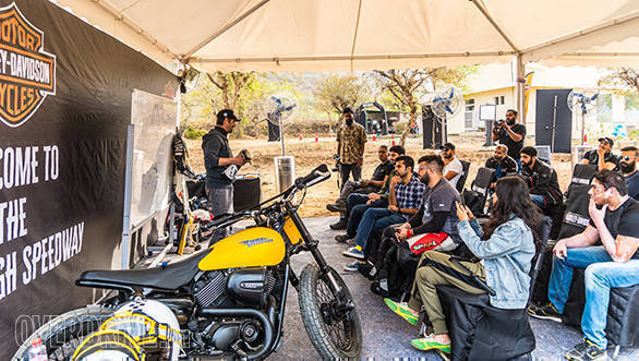 Harley-Davidson Flat Track Experience Marco Belli Static
