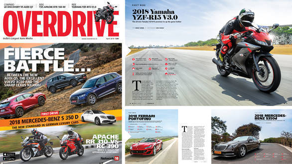 The April 2018 issue of OVERDRIVE is on stands now!