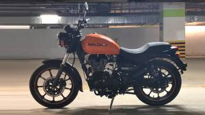 Royal Enfield Thunderbird 350X ABS and 500X ABS spotted at dealerships in India