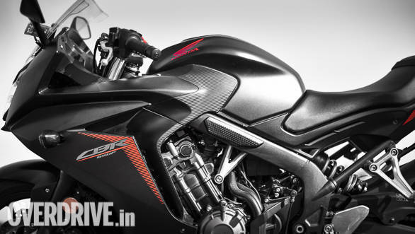 2018 Honda CBR650F Detail | fairing | tank