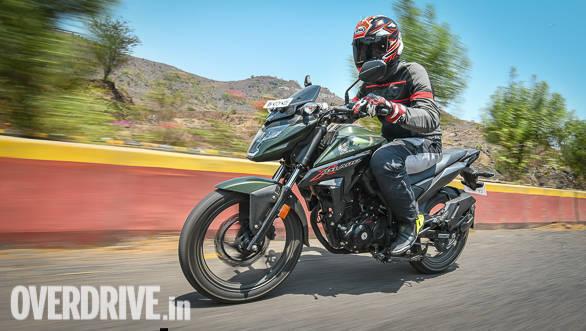 2018 Honda X-Blade Action