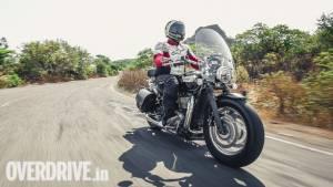 2018 Triumph Bonneville Speedmaster: Image gallery
