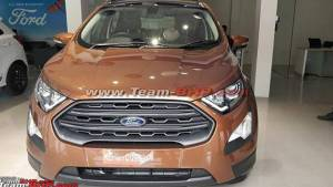 Ford EcoSport Titanium S, Signature Edition more details emerge, launch by month-end