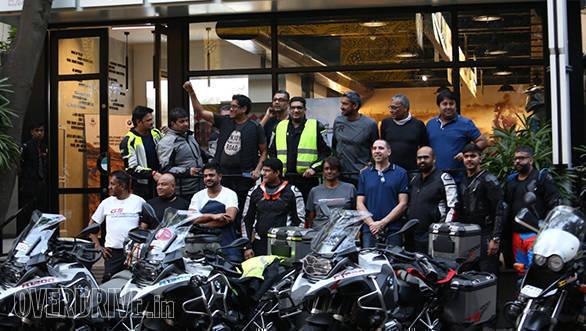 BMW Motorrad Deccan Safari | Tusker BMW Motorrad | Group photo