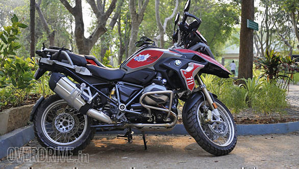 BMW Motorrad Deccan Safari | Tusker BMW Motorrad | BMW R 1200 GS static