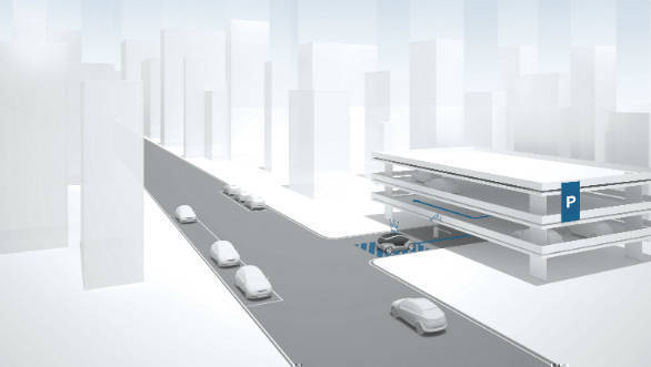 Bosch develops an automated valet parking system with e. Go
