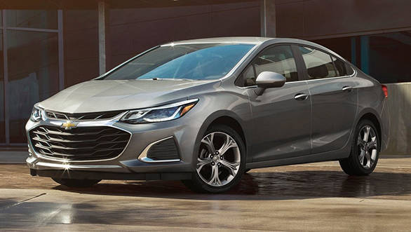 2019 Chevrolet Cruze And Spark Facelifts Revealed Overdrive