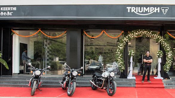 Triumph Mangalore Dealership