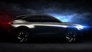 Hybrid Kinetic K350 concept is the second Pininfarina design to be teased ahead of Beijing