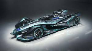 Formula E: Jaguar unveils Season 5 concept livery