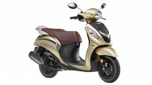 Yamaha Fascino updated with new colour options