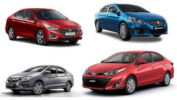 Spec comparison: Toyota Yaris vs Honda City vs Hyundai Verna vs Maruti Suzuki Ciaz