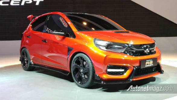 Honda unveils Small RS Concept in Indonesia, preview to next Brio