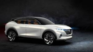 Mahindra-owned Pininfarina and Hybrid Kinetic Group unveil K350 all-electric SUV concept at Auto China 2018
