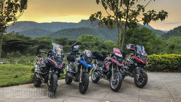 Team India hones their skills for the BMW GS Trophy