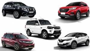 Spec comparison: Hyundai Creta vs Honda BR-V vs Nissan Terrano vs Mahindra Scorpio vs Renault Captur