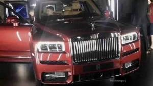 Rolls-Royce Cullinan SUV leaked ahead of tomorrow's unveiling