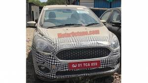 Spied: Ford Figo Aspire facelift snapped ahead of launch in India