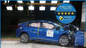 Hyundai Ioniq hybrid gets a five-star ASEAN NCAP rating