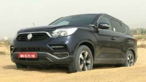 Mahindra (Ssangyong) Rexton G4, the brand's upcoming flagship SUV spotted testing again