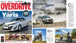 The May 2018 issue of OVERDRIVE is out now on stands