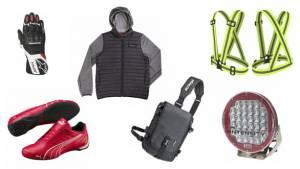 New gear: Scuderia Ferrari Kart shoes, Kriega Messenger bag, Alpinestars SP-8 V2 gloves and more