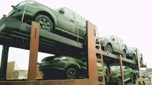 Tata Motors' shipments of Indian Army's Safari Storme 4X4 spotted