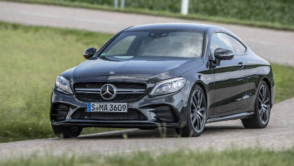 2020 Mercedes-AMG C43 coupe to be launched in India on ...