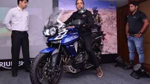 Triumph Motorcycles flags of Jammu to Kanyakumari ride to promote safe riding