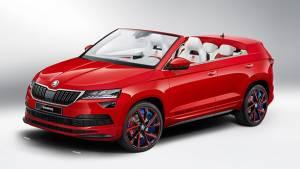 Skoda unveils concept car Sunroq