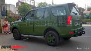 More images emerge of Indian Army-spec Tata Safari Storme