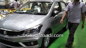 2018 Maruti Suzuki Ciaz facelift to be launched in India on August 20, bookings begin