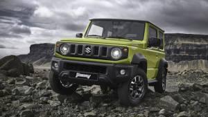 Image gallery: New-gen Suzuki Jimny SUV